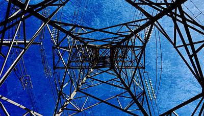 Photograph - Electric Power Transmission... by Werner Lehmann