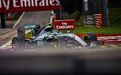Sauber Photograph - Formula 1 Monza by Srdjan Petrovic