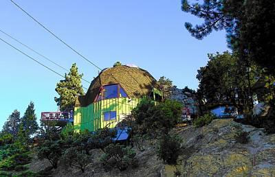 Idyllwild - Houses On The Hill Art Print