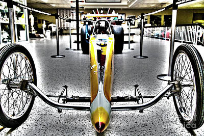 Indy Car Photograph - Indy Race Car Museum by ELITE IMAGE photography By Chad McDermott