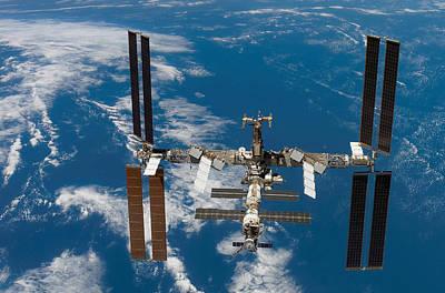 Stellar Interstellar Royalty Free Images - International Space Station Royalty-Free Image by Stocktrek Images
