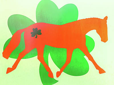 Celtic Lengthen Trot  Art Print by JAMART Photography