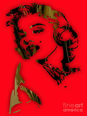 Movie Art Mixed Media - Marilyn Monroe Collection by Marvin Blaine