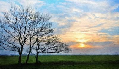 Landscape Painting - Nature Art Original Landscape Paintings by Margaret J Rocha
