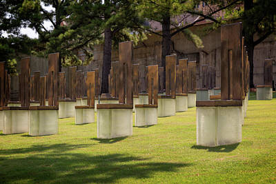 Photograph - Okc Memorial by Ricky Barnard