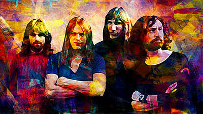 Pink Floyd Digital Art - Pink Floyd by Best Actors