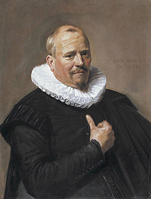 Painting - Portrait Of A Man by Frans Hals