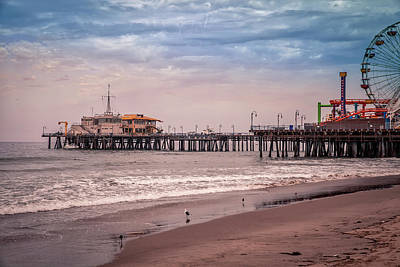 Photograph - Santa Monica Pier Collection- 29/36 by Gene Parks