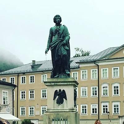 Mozart Photograph - Instagram Photo by Mariko Kamiyama