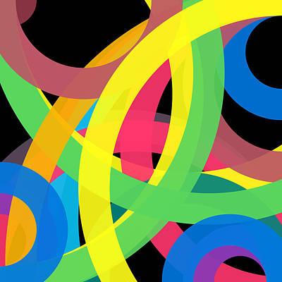 Drawing - 233 - Phi Word Circle by REVAD David Riley