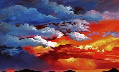 Landscape Painting - Nature Landscape Artwork by Edna Wallen