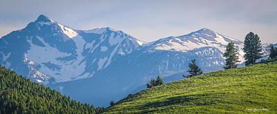 #238 - Spanish Peaks, Southwest Montana Art Print