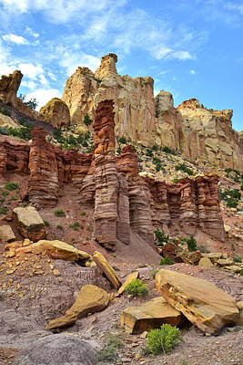 Photograph - Burr Trail Road by Ray Mathis