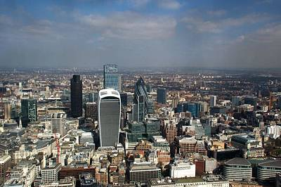 Photograph - City Of London Skyline by Chris Day