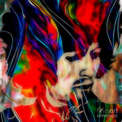 Musician Mixed Media - Eric Clapton Collection by Marvin Blaine