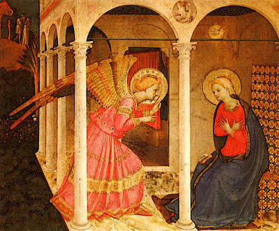 Fra Angelico  Art Print by Fra Angelico