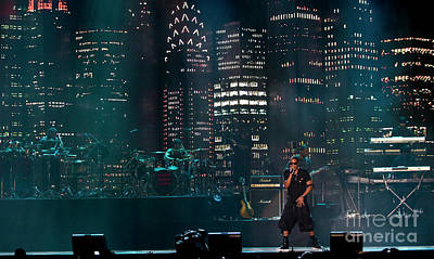 Jay Z Photograph - Jay-z At Bonnaroo Music Festival  by David Oppenheimer