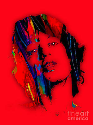 Jagger Mixed Media - Mick Jagger Collection by Marvin Blaine