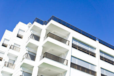 Upscale Photograph - Modern Building by Tom Gowanlock