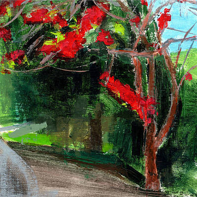 Relax Painting - Rcnpaintings.com by Chris N Rohrbach