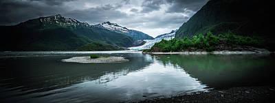 Photograph - Scenery Around Mendenhall Glacier Park In Juneau Alaska by Alex Grichenko
