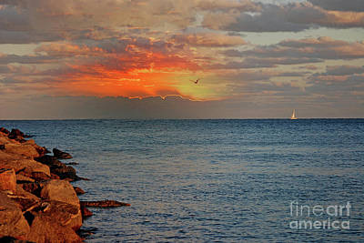 Photograph - 24- Singer Island Sunrise by Joseph Keane