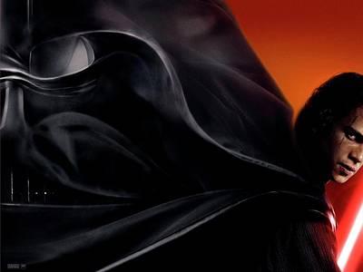 Curve Digital Art - Star Wars by Super Lovely