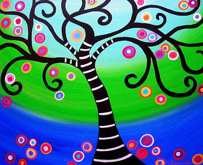 Whimsical Painting - Tree Of Life by Pristine Cartera Turkus