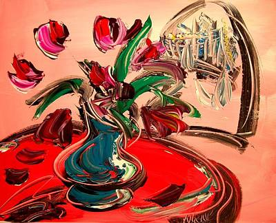 Tulips Art Print by Mark Kazav