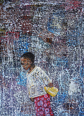 Painting - Untitled  by Ronex Ahimbisibwe