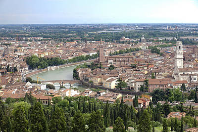River Scenes Photograph - Verona by Andre Goncalves