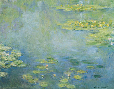Waterlilies Art Print by Claude Monet