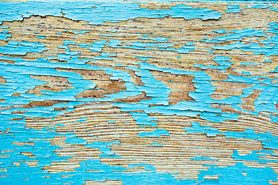 Messy Photograph - Wood Background by Tom Gowanlock
