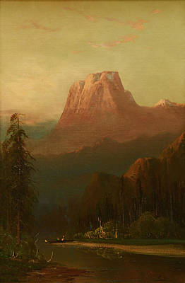 El Capitan Painting - Schafer Oil On Board, by MotionAge Designs