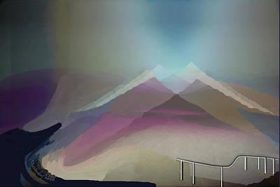 Digital Art - 2404 by Irmgard Schoendorf Welch