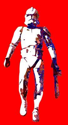 Aliens Digital Art - Star Wars by Elena Kosvincheva