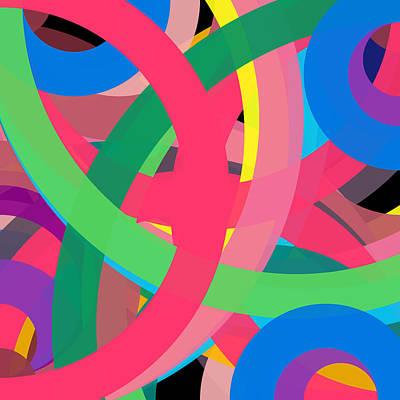 Drawing - 24157817 - Phi Word Circle by REVAD David Riley