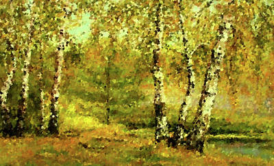 Cloud Painting - Nature Oil Canvas Landscape by Edna Wallen