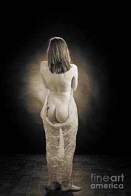 Model 3001.038 Nude Female Fine Art Print Print by Kendree Miller