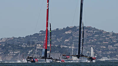 Sausalito Photograph - America's Cup San Francisco by Steven Lapkin