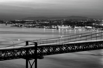 Photograph - 25 April Bridge Over Tagus River by Carlos Caetano