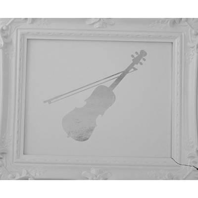 Fiddles Wall Art - Photograph - Available Colors: Gold, Rose Gold by Kiara Joy Gilbert