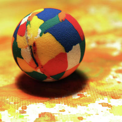 Photograph - 25 Cent Ball by Stephen Dorsett
