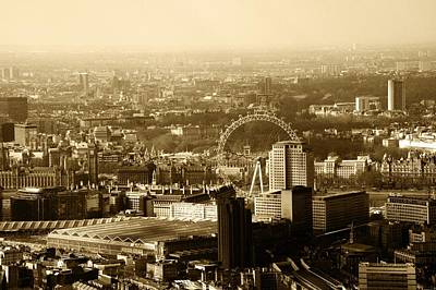 Photograph - Westminster Skyline by Chris Day