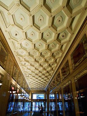 25 E. Washington Building Lobby In Chicago Original