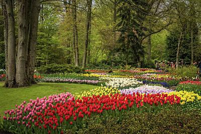 Garden Of Europe Photograph - Keukenhof Garden - Netherlands by Jon Berghoff