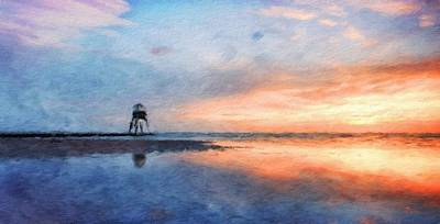 Landscape Painting - Landscape Nature Drawing by Margaret J Rocha