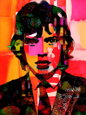 Music Mixed Media - Mick Jagger Collection by Marvin Blaine
