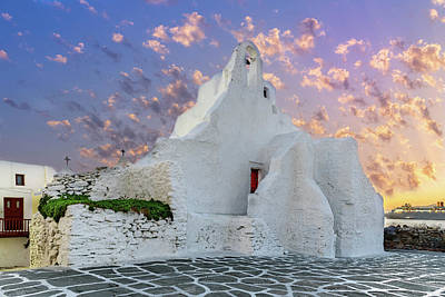 Photograph - Mykonos, Greece by Stavros Argyropoulos