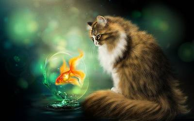 Animals Digital Art - Painting by Super Lovely